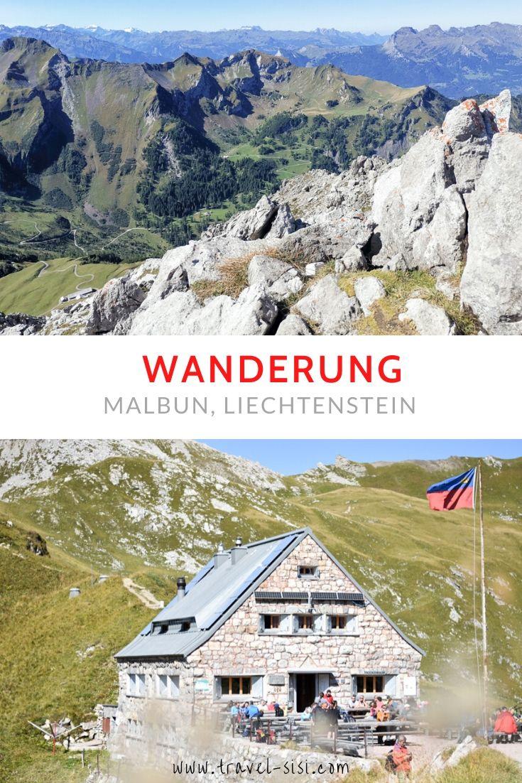 Wanderung Liechtenstein Malbun Fürstin-Gina-Weg Pfälzerhütte