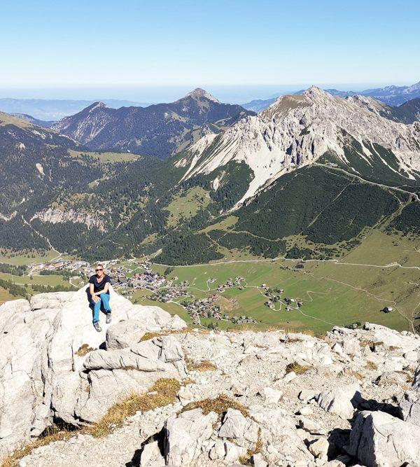 Wanderung Liechtenstein: Bergpanorama geniessen auf dem Fürstin-Gina-Weg