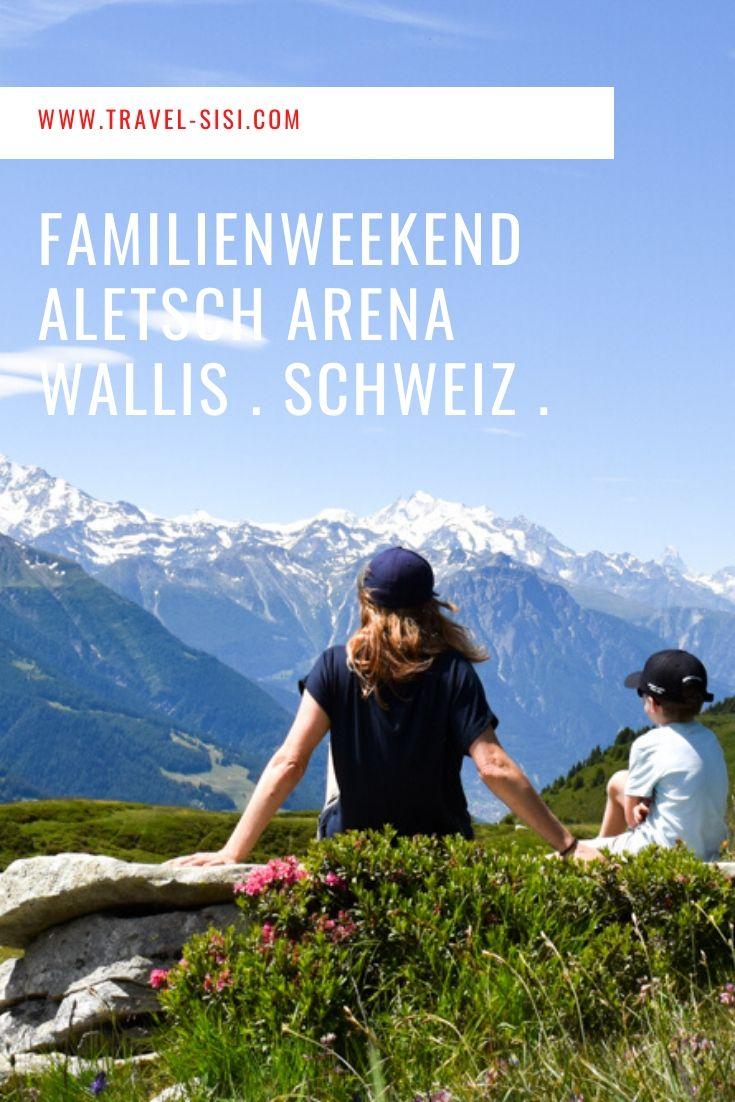 Familienweekend Aletsch Arena Wallis Schweiz