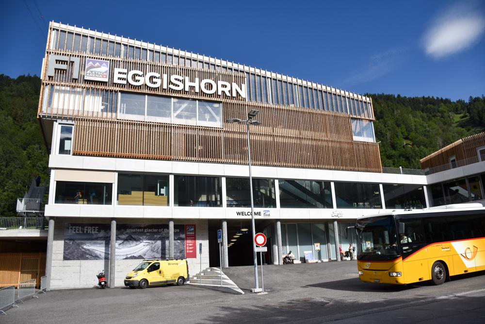 Familienwochenende Aletsch Arena Wallis Schweiz ÖV Hub Fiesch