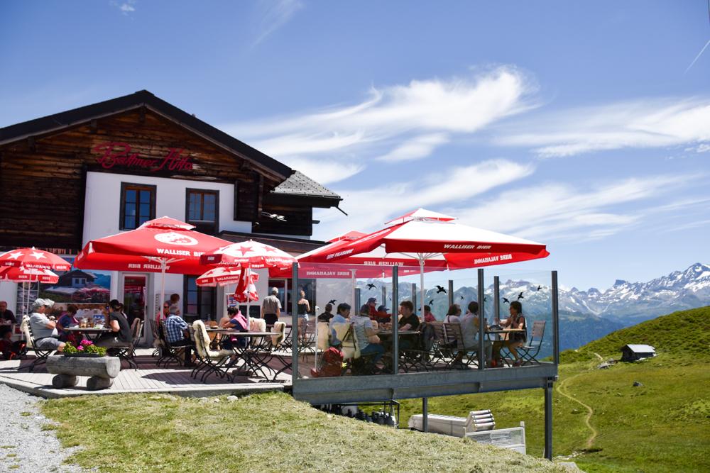 Familienwochenende Aletsch Arena Wallis Schweiz Bättmer Hitta
