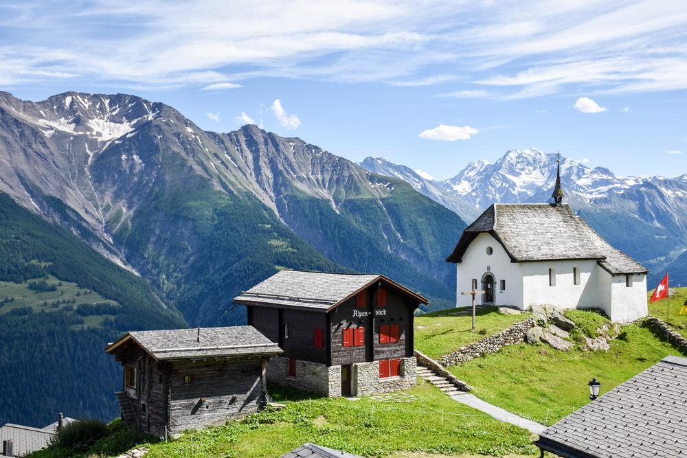Familienwochenende Aletsch Arena Wallis Schweiz Bettmeralp