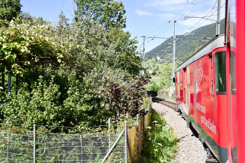 Familienwochenende Aletsch Arena Wallis Schweiz Gotthard Matterhorn Bahn