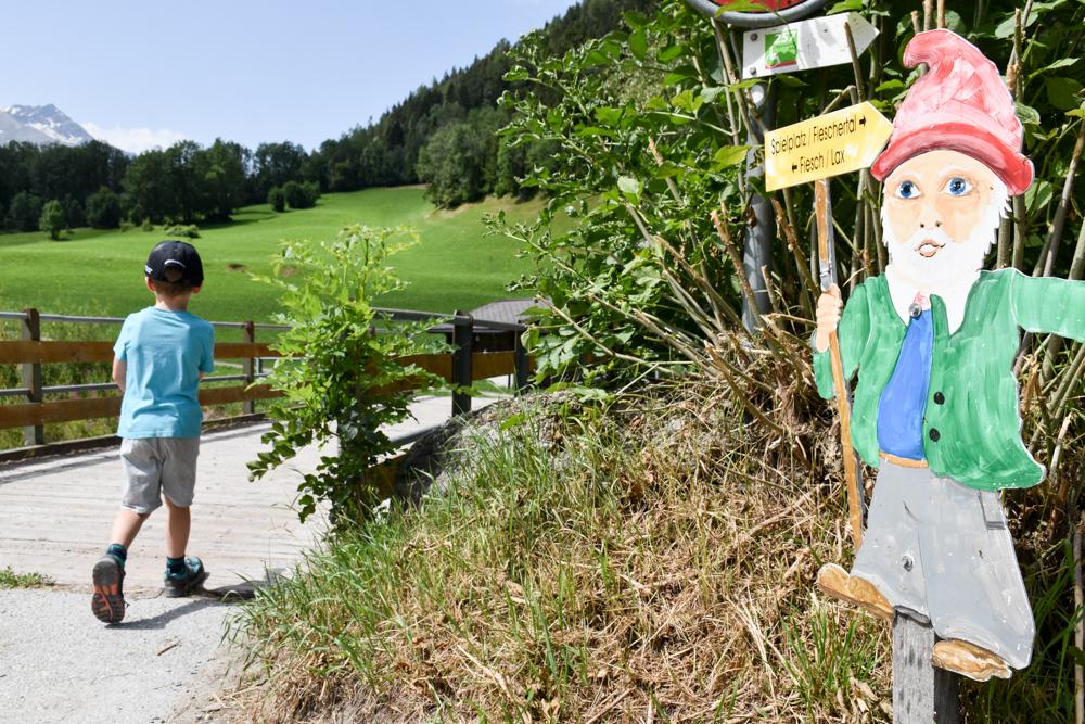 Familienwochenende Aletsch Arena Wallis Schweiz Themenwanderung Fieschertal