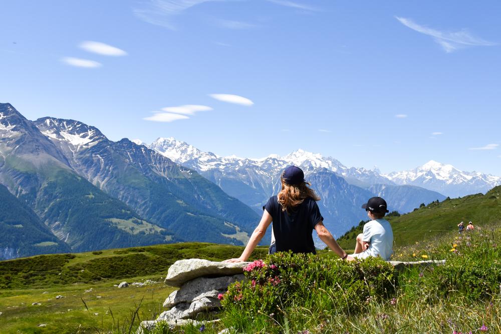 Familienwochenende Aletsch Arena Wallis Schweiz