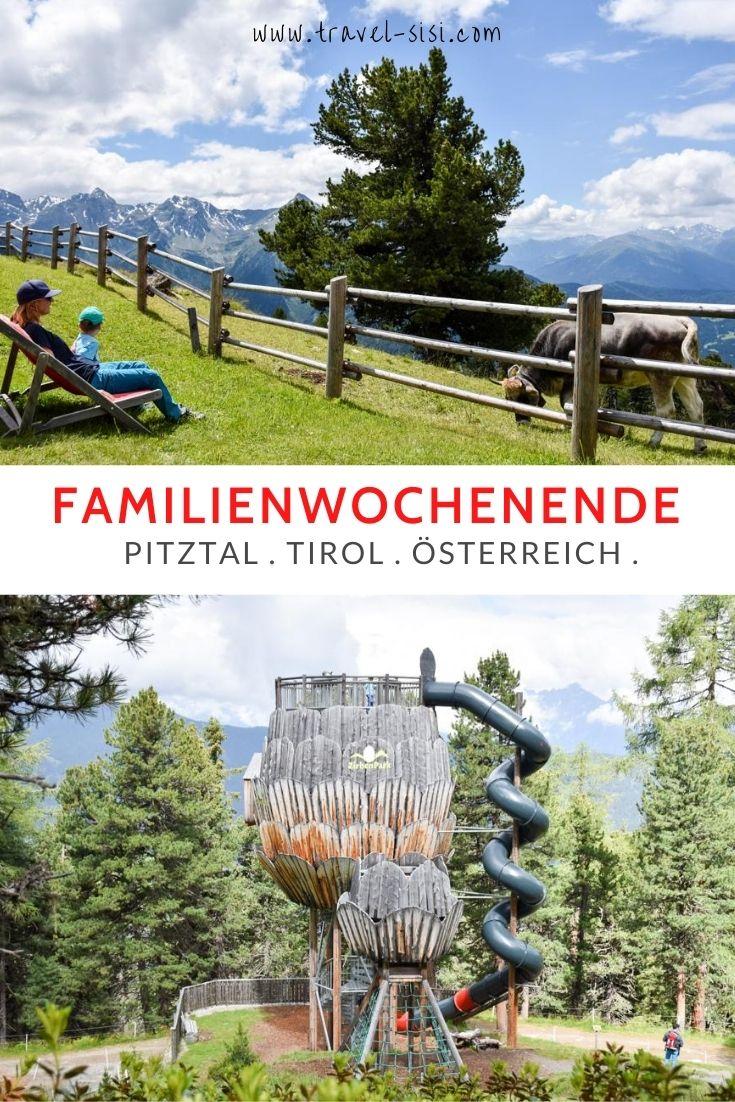 Familienwochenende Pitztal Tirol Österreich