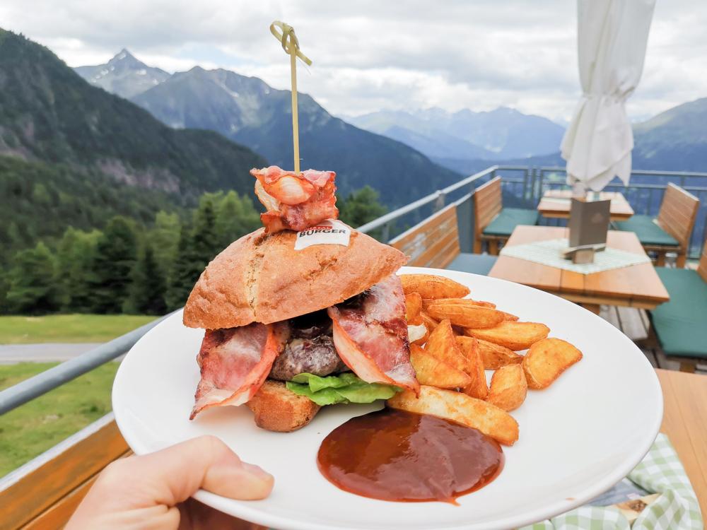 Familienwochenende Pitztal Tirol Österreich Pitztal Burger Zeiger Restaurant Hochzeiger