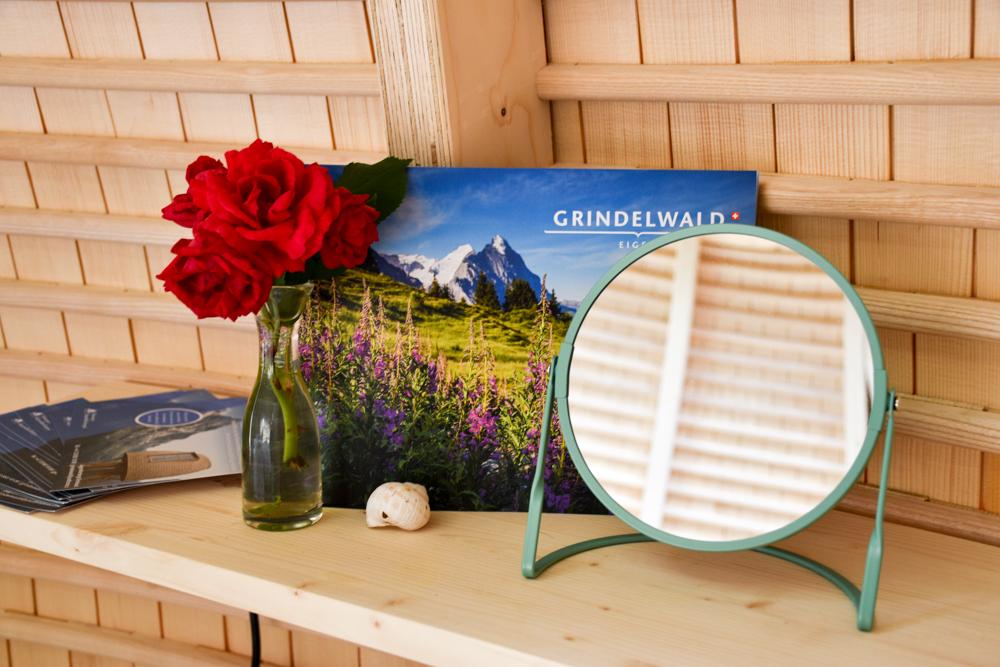 Unterkunft Berner Oberland Schweiz Bienenkorb Jugendherberge Grindelwald Dekoration