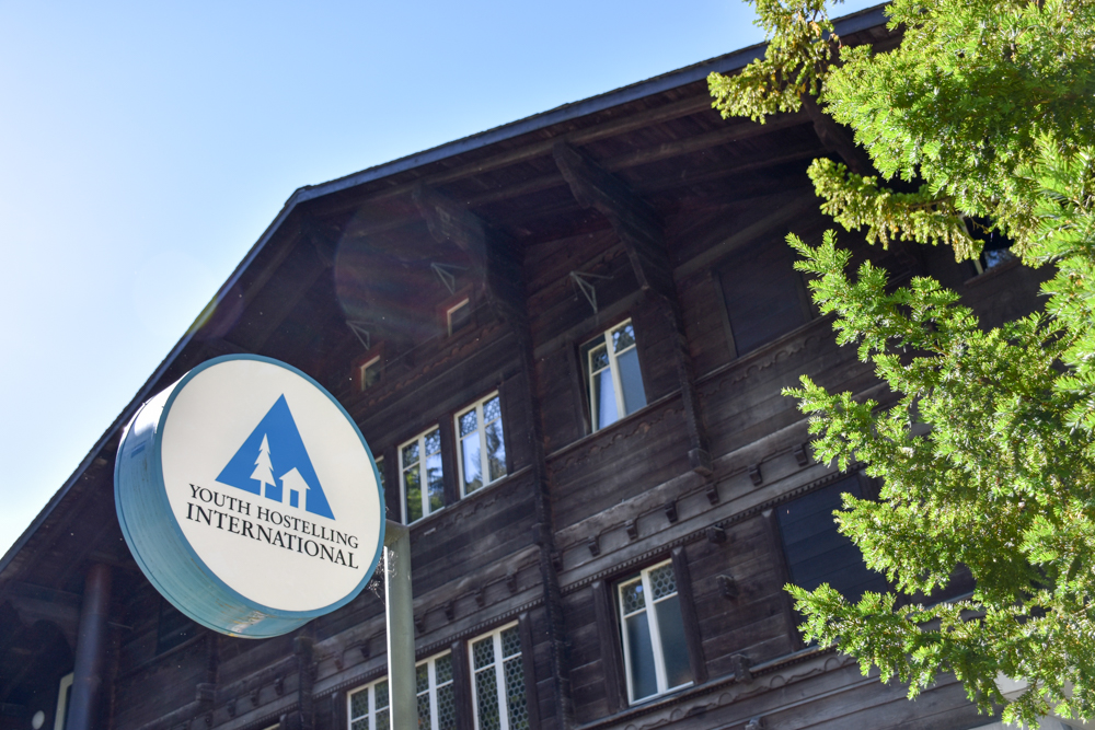 Unterkunft Berner Oberland Schweiz Bienenkorb Jugendherberge Grindelwald Hauptgebäude