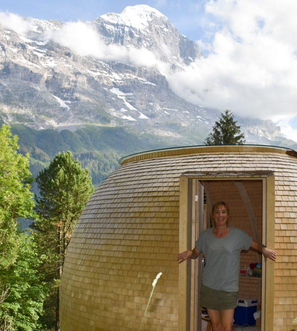 Unterkunftstipp Berner Oberland Schweiz: Übernachten im Bienenkorb der Jugendherberge Grindelwald
