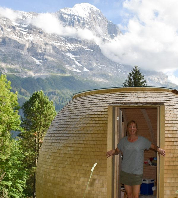 Unterkunft Berner Oberland Schweiz Bienenkorb Jugendherberge Grindelwald Travel Sisi Esther Mattle
