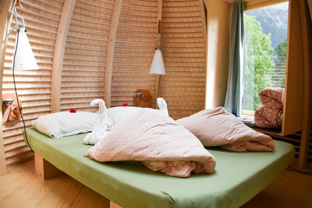 Unterkunft Berner Oberland Schweiz Bienenkorb Jugendherberge Grindelwald tolles Ambiente in der Unterkunft