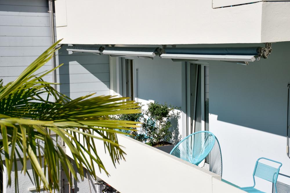 Unterkunft Weggis Vierwaldstättersee Schweiz Wanderlust Guesthouse viele Zimmer haben einen Balkon