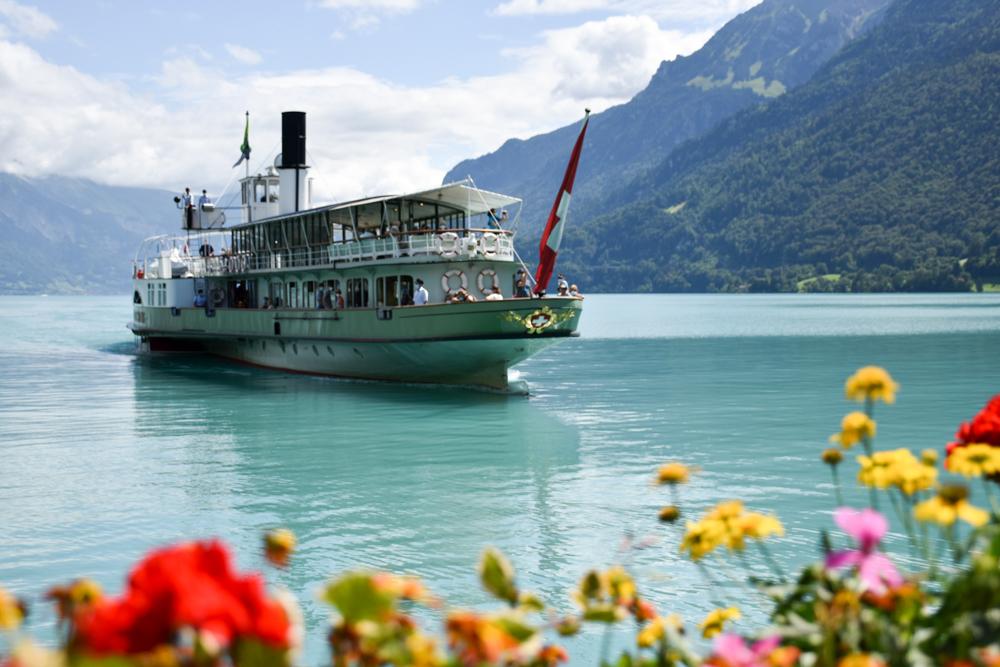 Ausflugstipp Giessbachfälle Brienzersee Interlaken Schweiz Dampfschiff