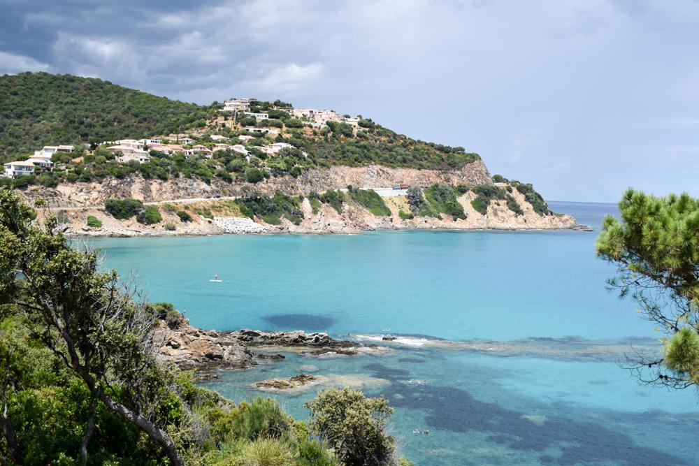 Camping Rundreise Korsika Aussicht Campingplatz Fautea