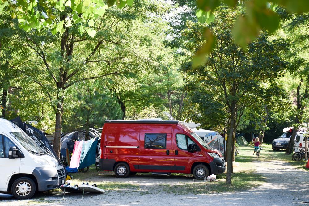 Camping Rundreise Korsika Campingplatz Le Grande Quiete Comersee