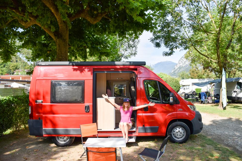 Camping Rundreise Korsika Campingplatz Porlezza Lago Maggiore Italien
