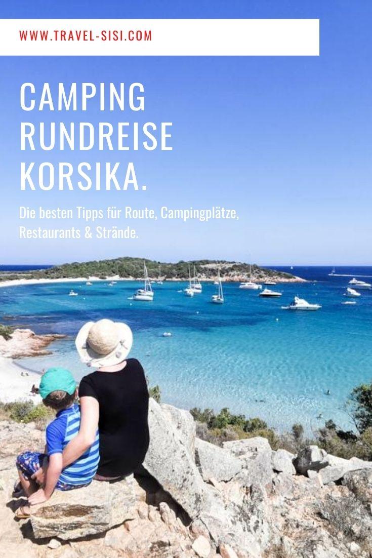Camping Rundreise Korsika Frankreich