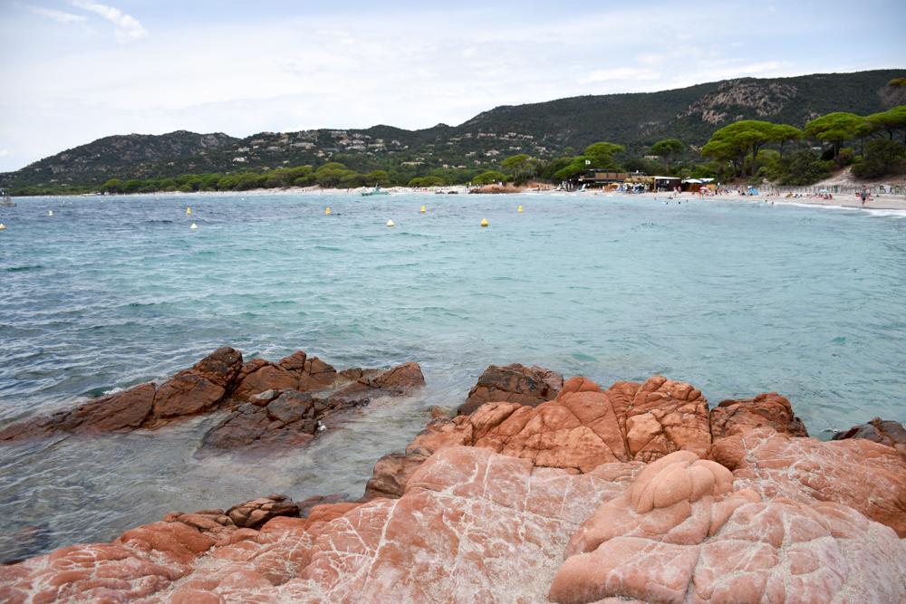 Camping Rundreise Korsika Strand von Palombaggia