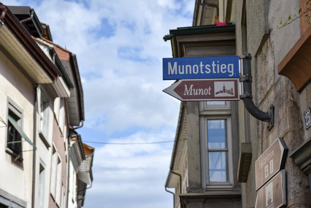 Familienwochenende Schaffhauserland Schweiz Munotstieg Schaffhausen