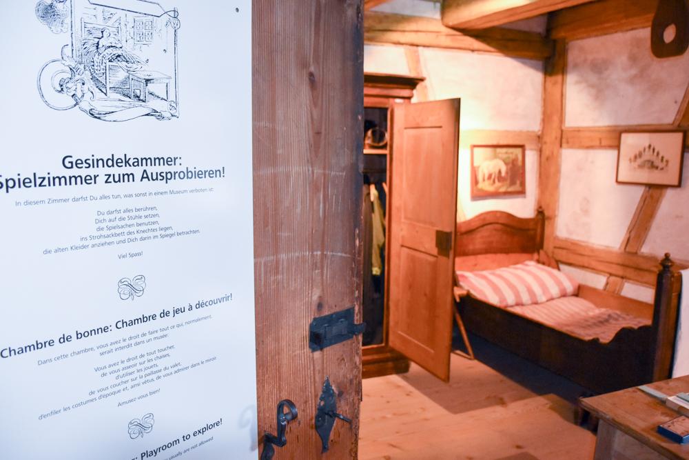 Familienwochenende Schaffhauserland Schweiz Museum Lindwurm Spielzimmer