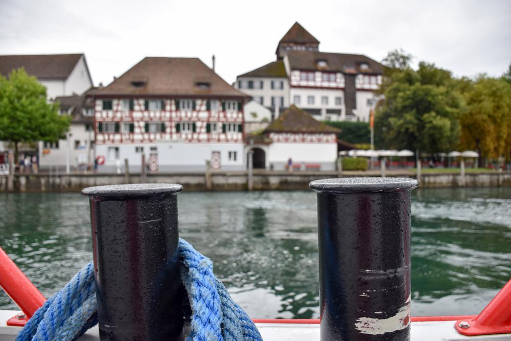 Familienwochenende Schaffhauserland Schweiz Schifffahrt Diessenhofen