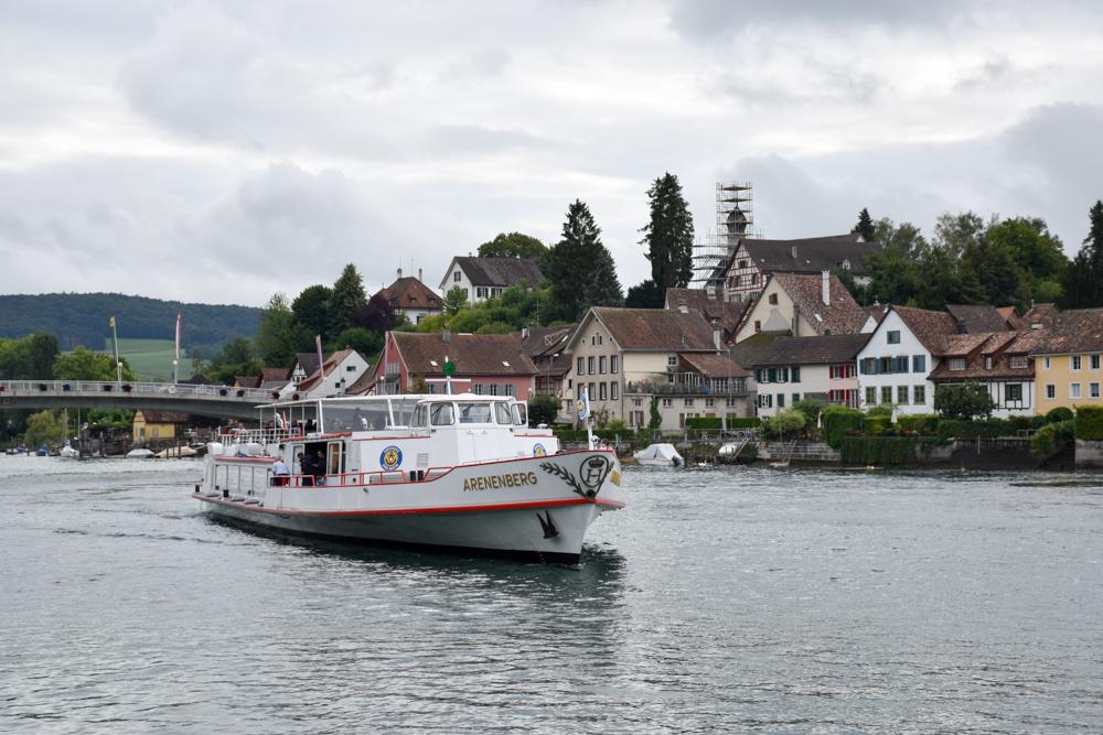 Familienwochenende Schaffhauserland Schweiz Schifffahrt Stein am Rhein Schaffhausen