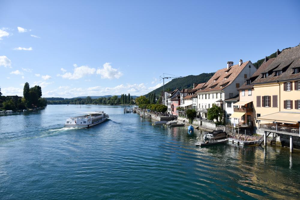Familienwochenende Schaffhauserland Schweiz charmante Stadt Stein am Rhein
