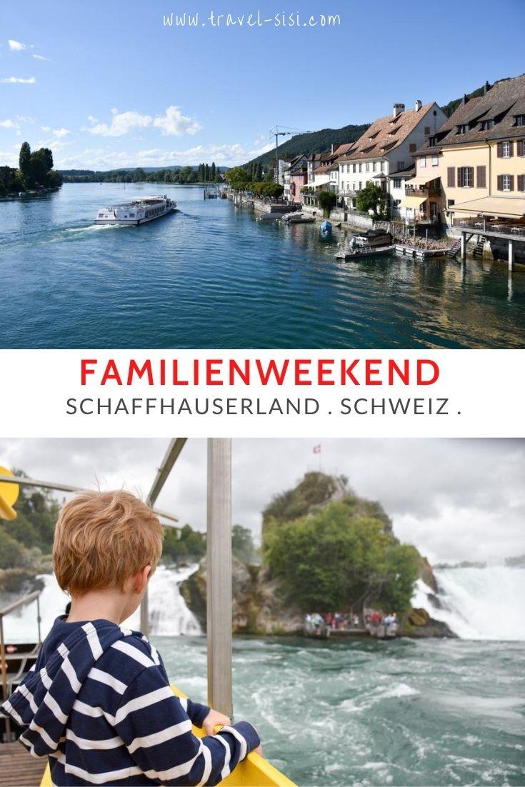 Schaffhauserland Stein am Rhein Schaffhausen Familienweekend