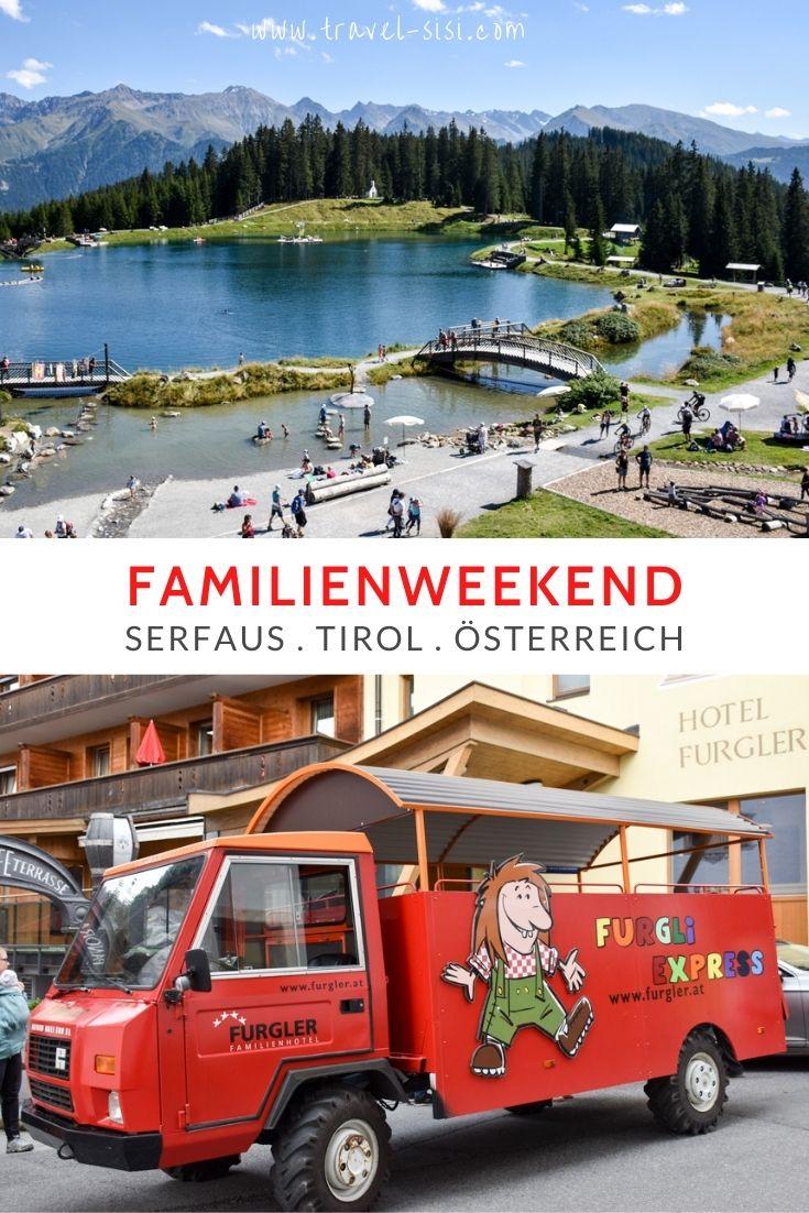 Familienweekend Serfaus Tirol Österreich