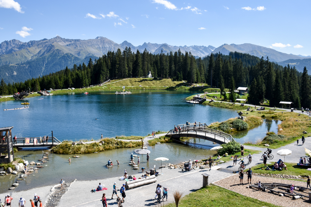 Familienwochenende Serfaus Tirol Österreich Erlebnispark Högsee