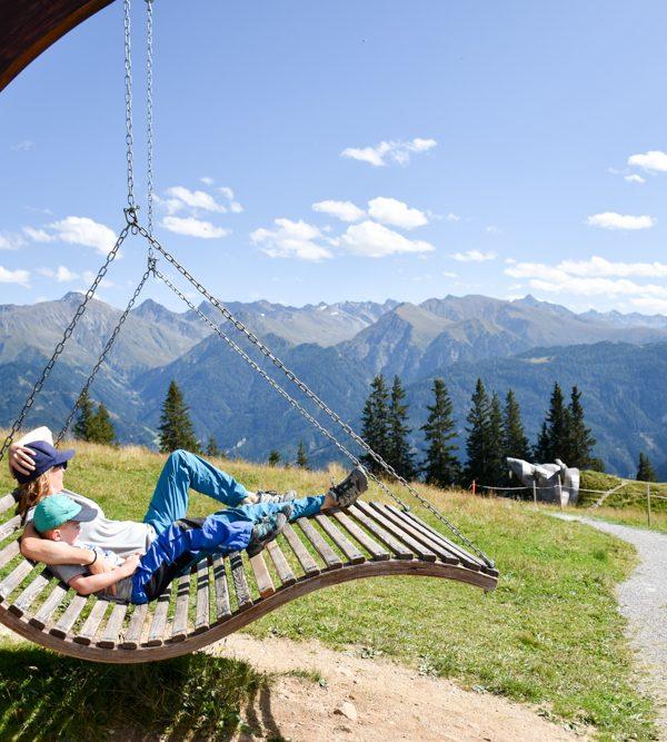 Familienwochenende in Serfaus: Spiel und Spass im Familienhotel Furgler in Tirol in Österreich