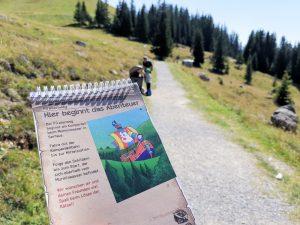 Familienwochenende Serfaus Tirol Österreich Stickerbuch Piratenweg