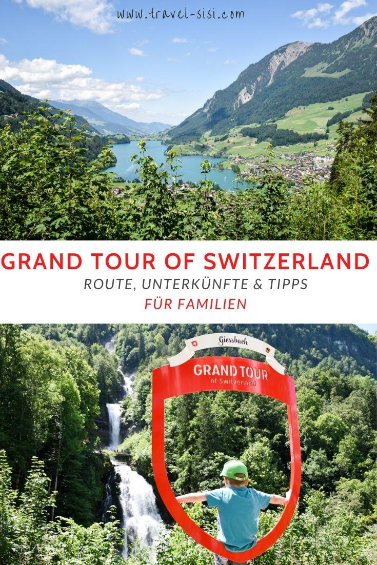 Grand Tour of Switzerland mit Familie