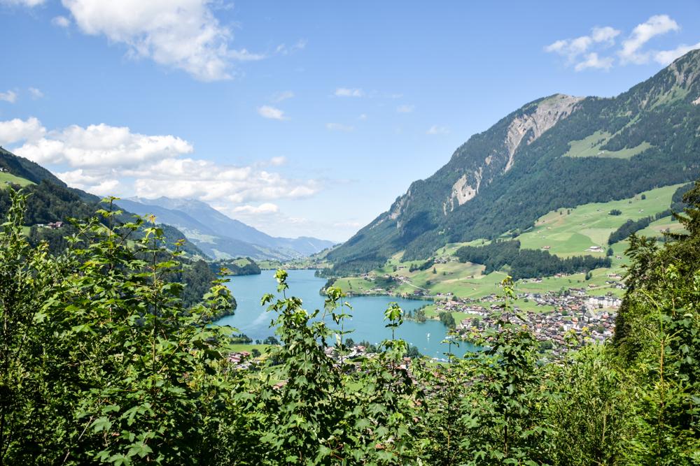 Kleine Grand Tour of Switzerland mit Familie Aussicht Brünigpass