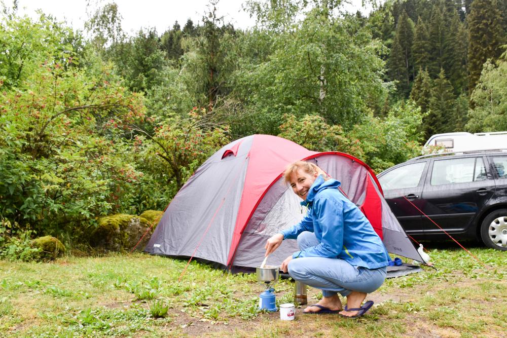 Kleine Grand Tour of Switzerland mit Familie TCS Camping Disentis Fontanivas