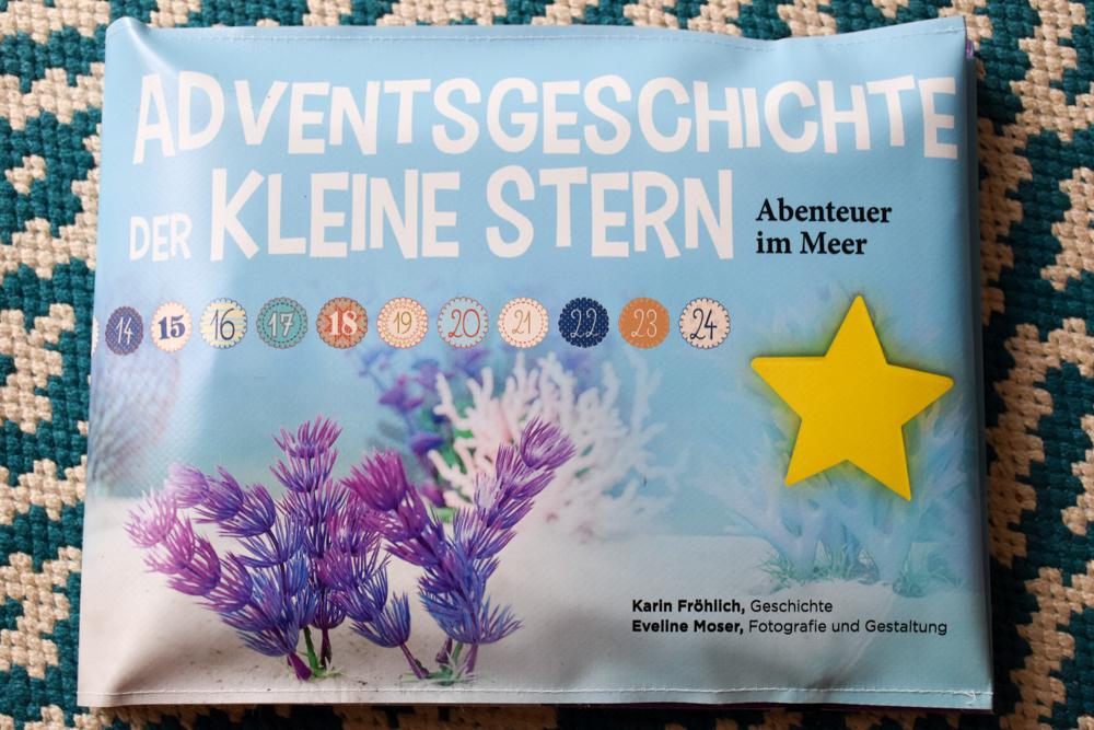 Adventskalender Adventsgeschichte Kleiner Stern Hülle