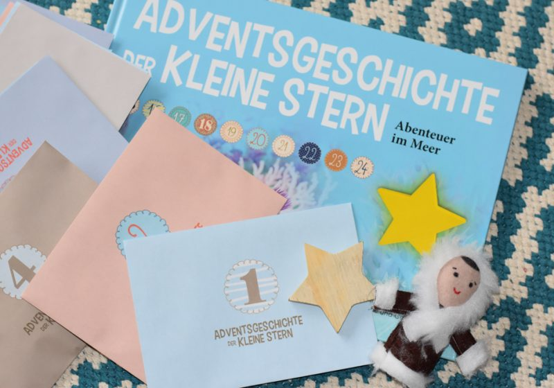 Adventskalender Adventsgeschichte kleiner Stern