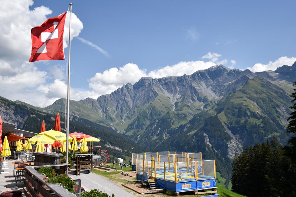 Ausflugstipp Familie Riesenwald Elm Glarus Schweiz Ämpächli