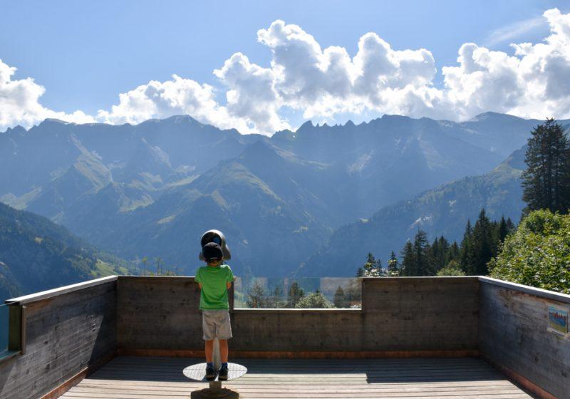 Ausflugstipp Familie Riesenwald Elm Glarus Schweiz Aussicht