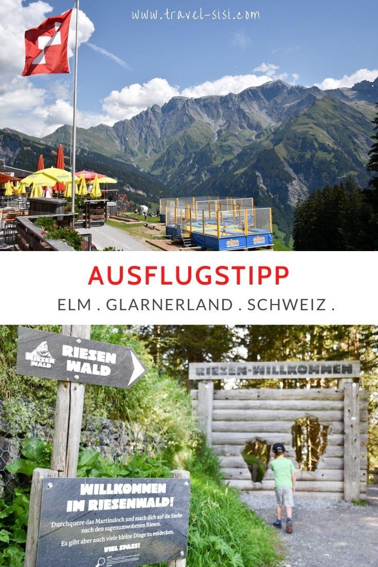 Ausflugstipp Familie Riesenwald Elm Glarnerland Schweiz