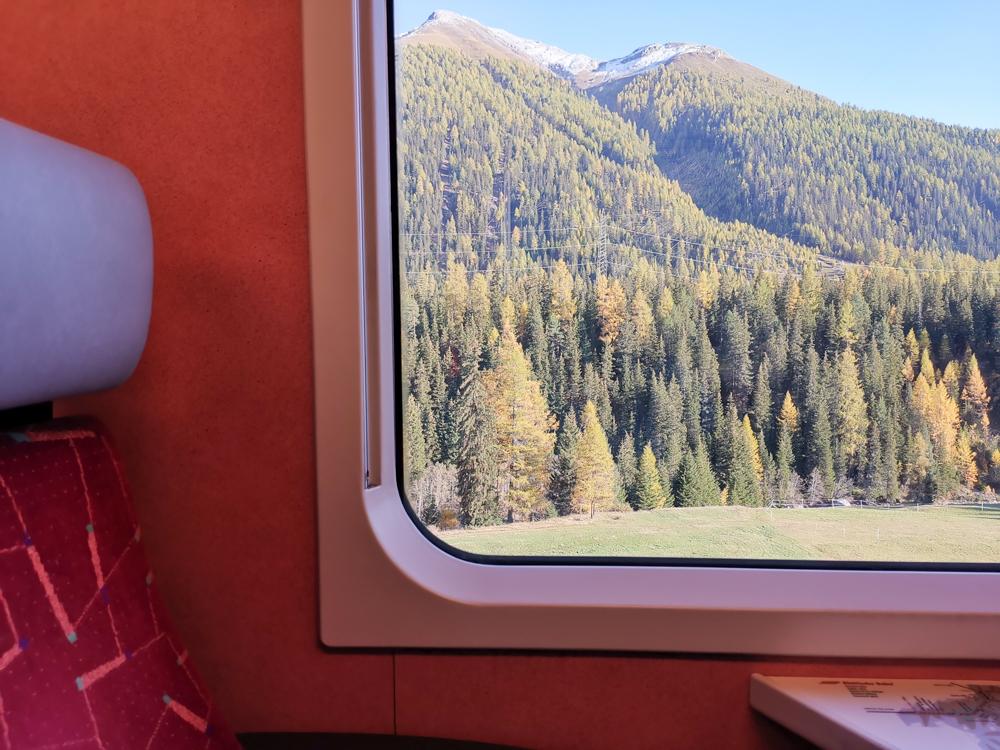 Familienwochenende Schweizerischer Nationalpark Engadin Graubünden Schweiz Ausblick Rhätische Bahn