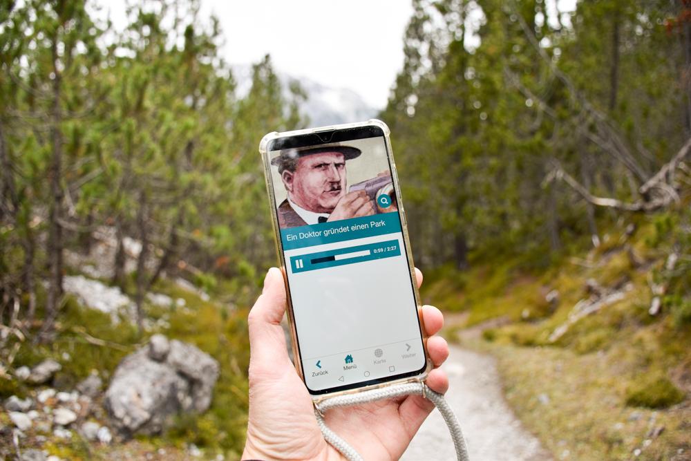 Familienwochenende Schweizerischer Nationalpark Engadin Graubünden Schweiz App Iwebpark