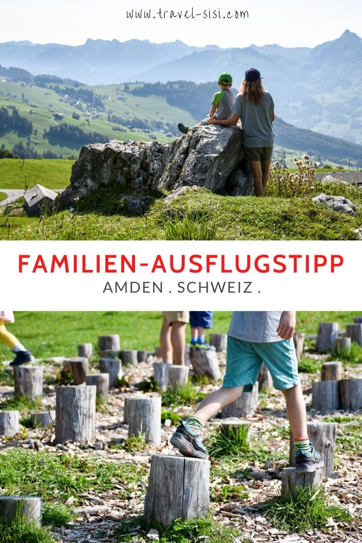 Ausflugstipp Familie Munggeweg Amden Schweiz