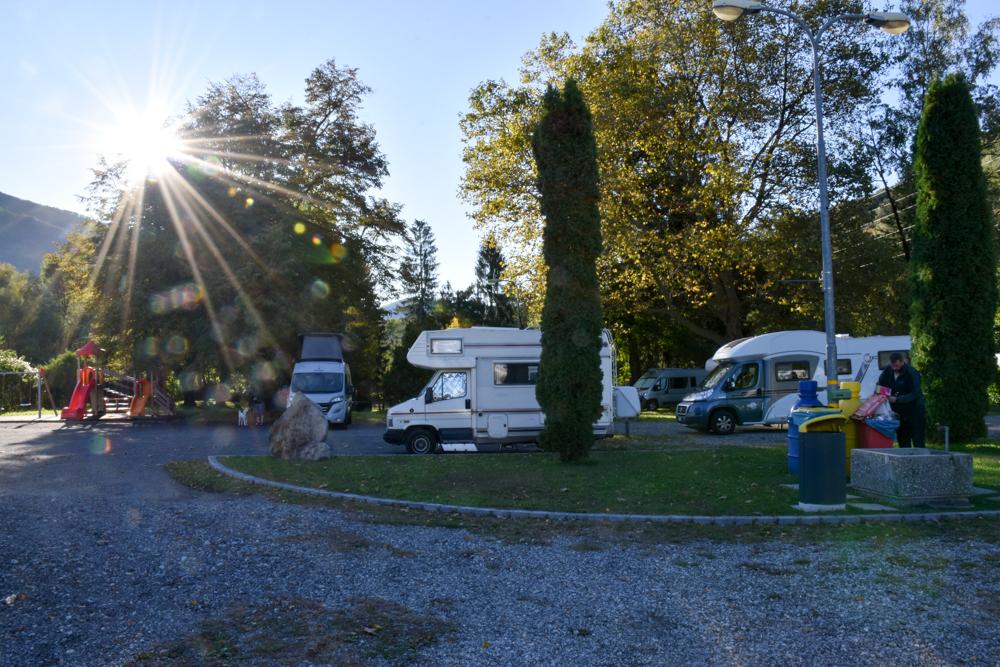 Camper Reise Venedig Italien Camper Area Tamaro Monte Ceneri Tessin