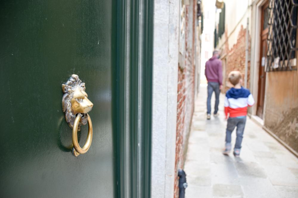 Camper Reise Venedig Italien der Löwe von Venedig