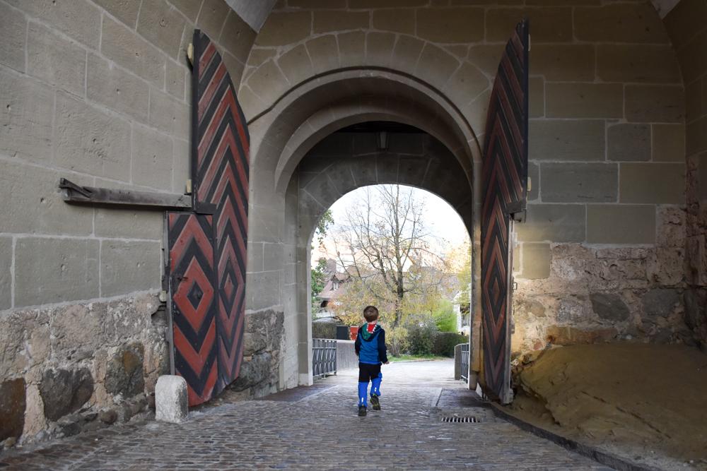 Jugendherberge Schloss Burgdorf Emmental Schweiz Spiel dich durch Burgdorf