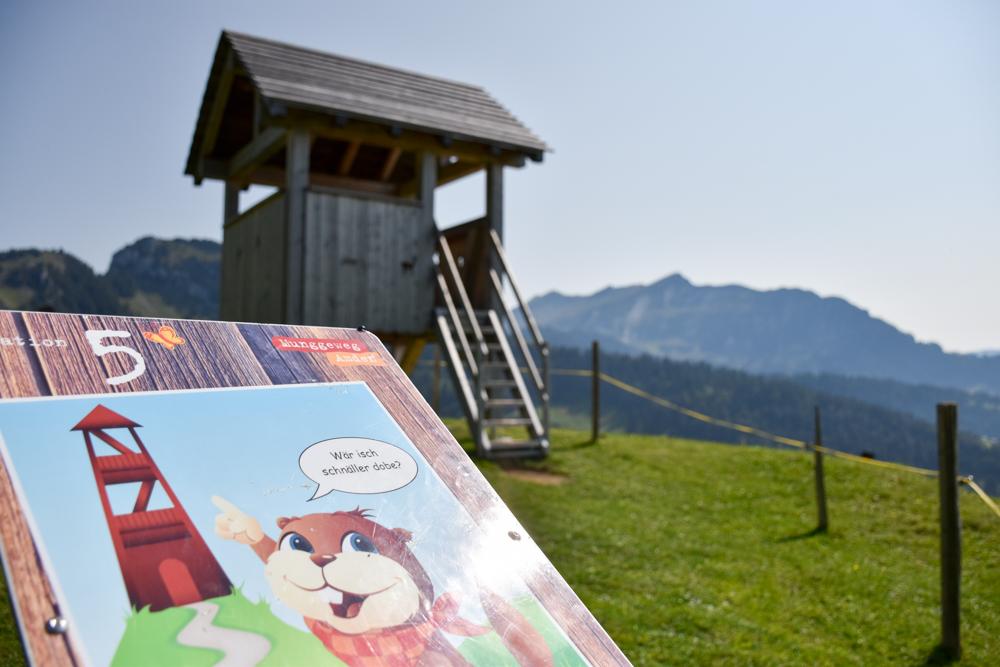 Munggeweg Amden St. Gallen Schweiz Aussichtsturm