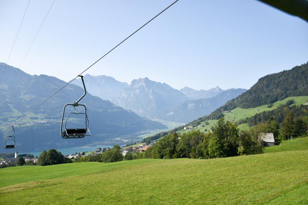 Munggeweg Amden St. Gallen Schweiz Sesselbahn Mattstock