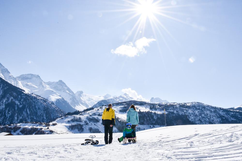 Winterferien in Disentis Sedrun: Restaurants, Aktivitäten, Ausflüge und Unterkunft für die ganze Familie